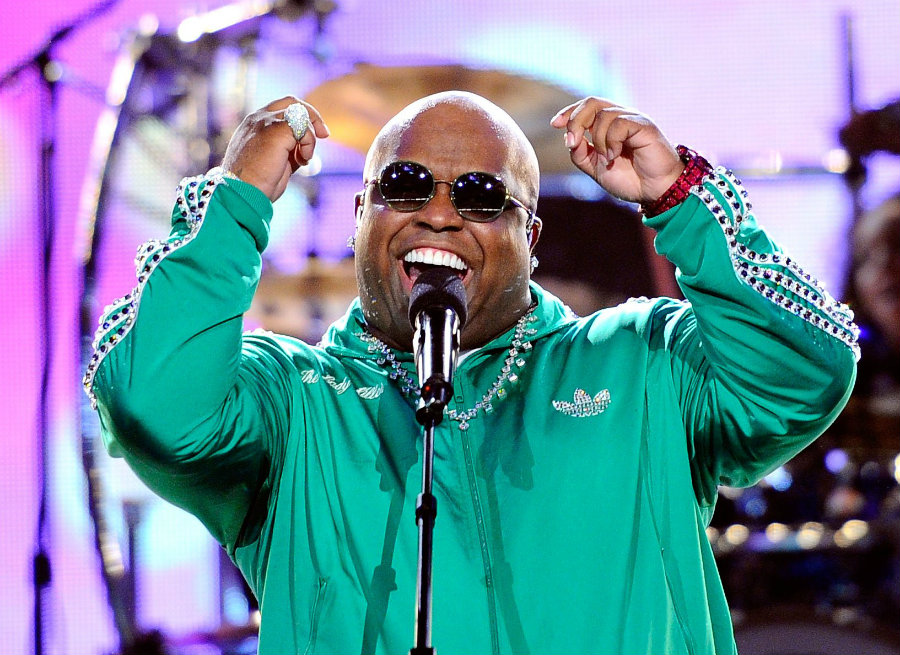 Ceelo Green streamed on Facebook Live Saturday night to let people know he was not hurt almost nine hours after the video was posted on the internet. Photo credit: Metro Lyrics