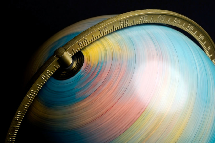 The Earth is spinning 1,8 milliseconds slower every century. Photo credit: Science.howstuffworks.com
