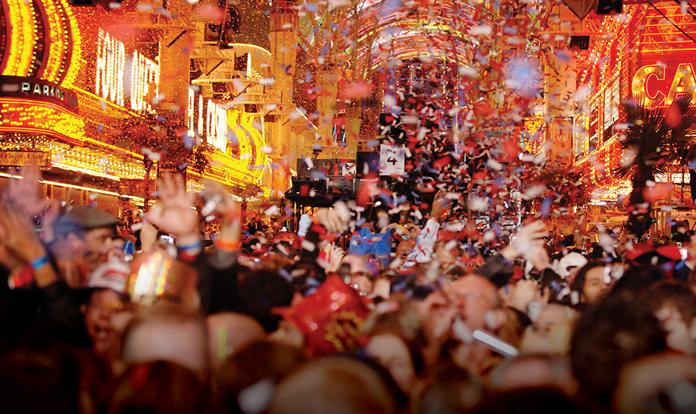 New Year's Eve Party in Las Vegas