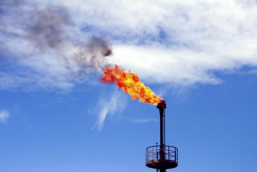 Methane levels have increased in the past two decades. Photo credit: Sierraclub.org