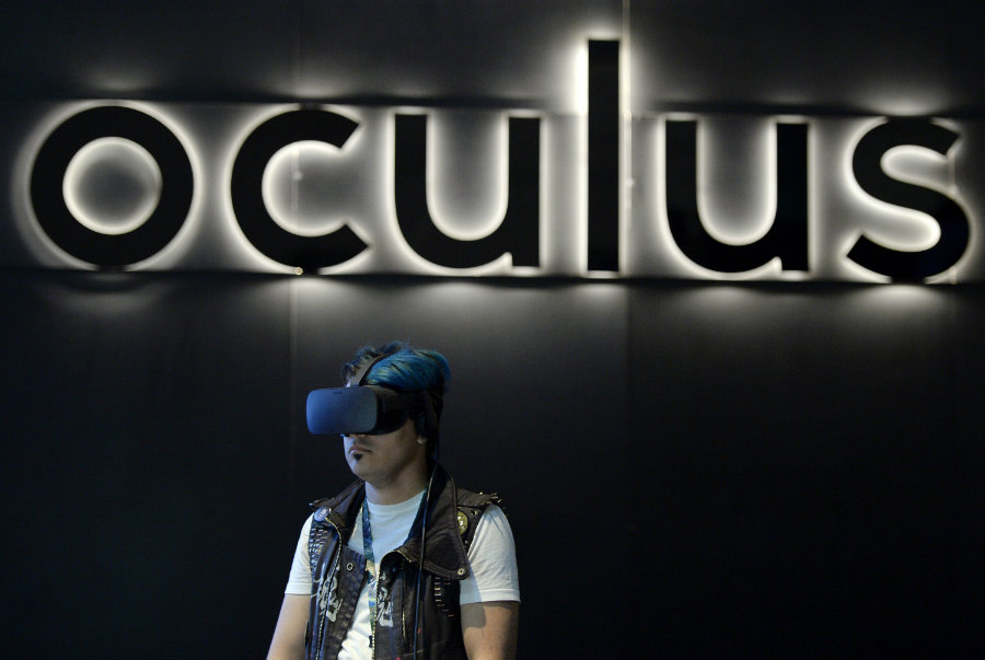 Facebook's Oculus has just acquired The Eye Tribe. Photo credit: Recode