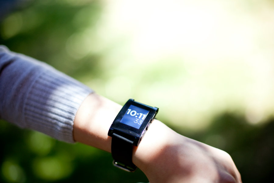 Fitbit is reportedly buying Pebble for the bummer sum of $40m. Photo credit: Wired