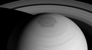 Saturn's mysterious North Pole. Photo credit: NASA / JPL-Caltech / Space Science Institute