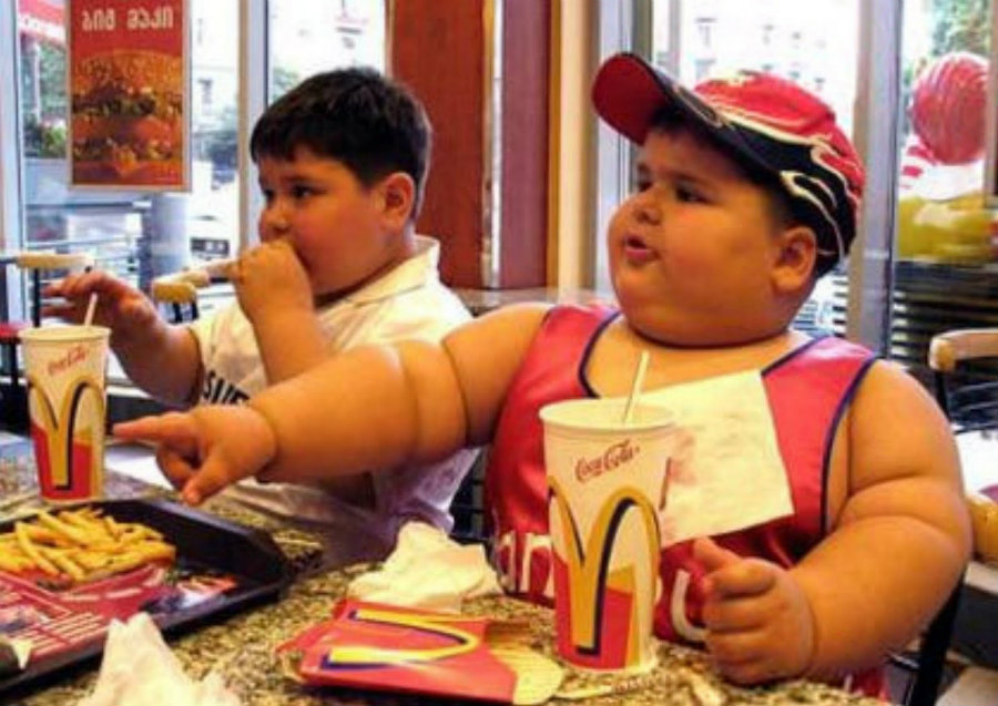 The goal of reducing obesity rates among toddlers and children was not accomplished. Photo credit: Mic. the Vegan Youtube Channel