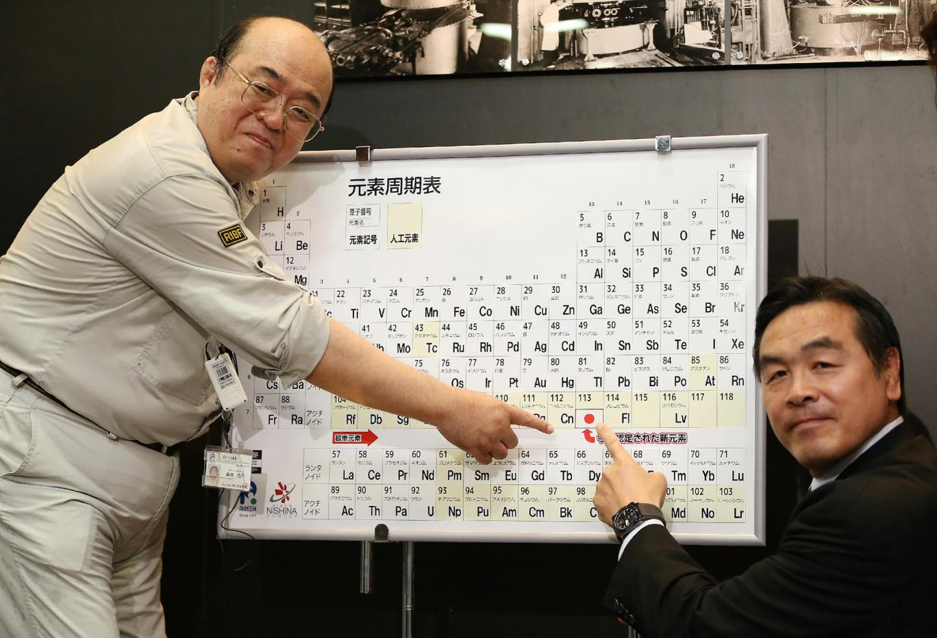 It Is Chemistry: New Elements Named And Added To Periodic Table