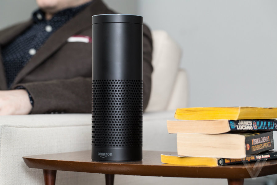 Amazon's Echo was the star in the smart home field. Photo credit: The Verge