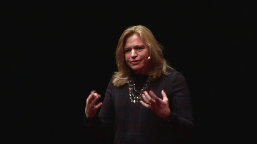 """She stated she would miss """"the people of NASA the most.""""Photo credit: TEDx Talks Youtube Channel"""