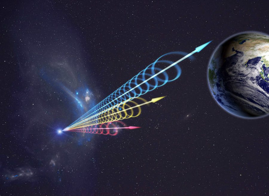 The Fast Radio Burst (FRB) is one of the most mysterious astronomical phenomena for the scientific community. Photo credit: Jingchuan Yu, Beijing Planetarium / Astronomy Now