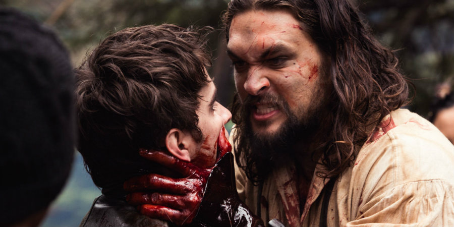 """Actor Jason Momoa talked about his new TV series """"Frontier."""" Photo credit: Screen Rant"""