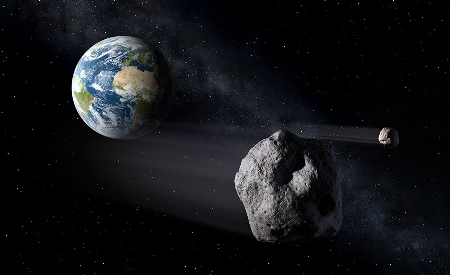 if it where it would fly by earth asteroid hit hit - photo #33