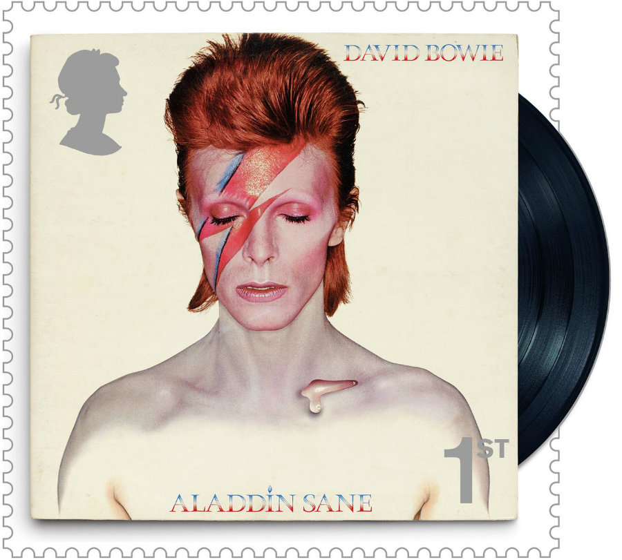 The Royal Mail decided to dedicate an entire stamp issue to David Bowie. Image credit: Royal Mail / PA Wire / Liverpool Echo