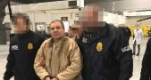 Guzmán arrived in New York at Long Island MacArthur Airport carried by a U.S. government official plane and escorted by federal agents. Photo credit: Univision News