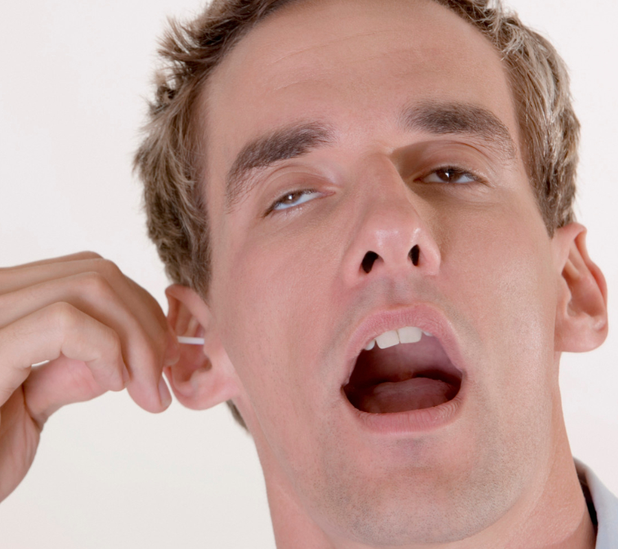 Use cotton buds to clean your ears? Stop, says study