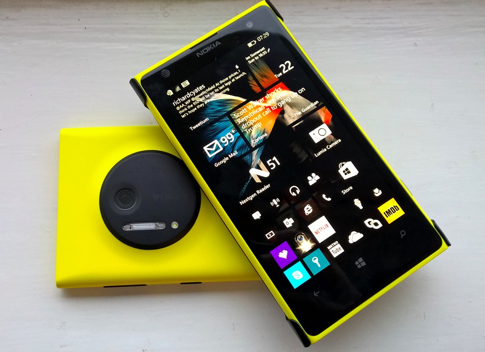 Nokia Lumia 1020. Image credit: All About Windows Phone.