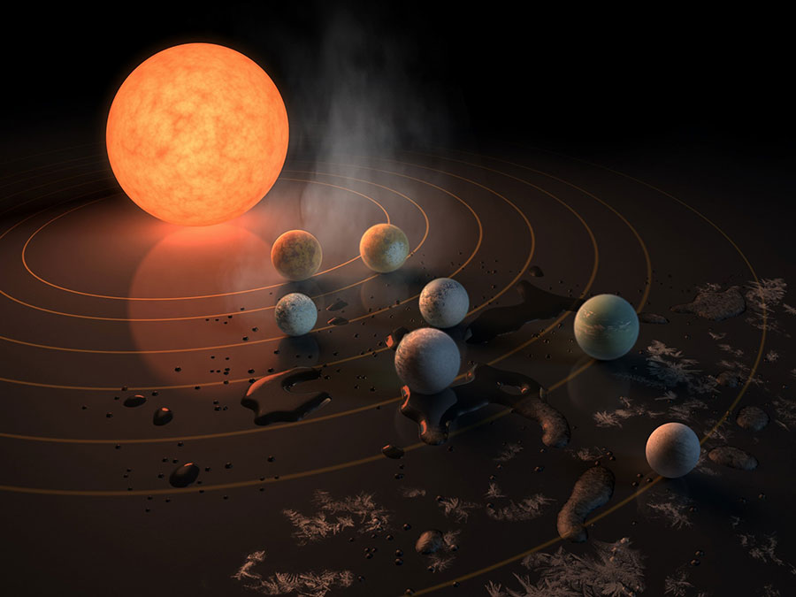 First evidence of water found on TRAPPIST-1 planets, says new research