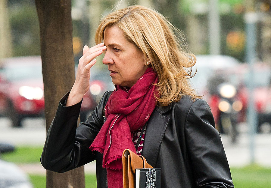 Spanish princess found not guilty, husband sentenced to six years for embezzlement