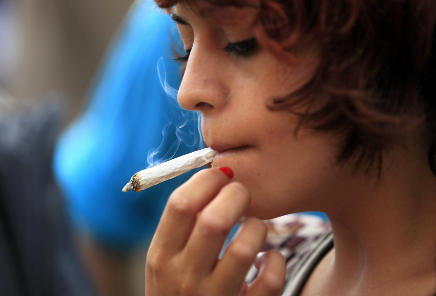 Which Marijuana by teens can violence families