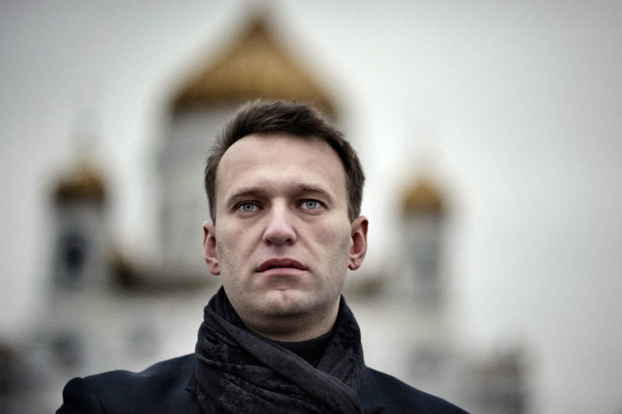 Alexei Navalny would be the opposition candidate to face Putin. Image credit: Yuri Kozyrev / Noor / Redux / The New Yorker