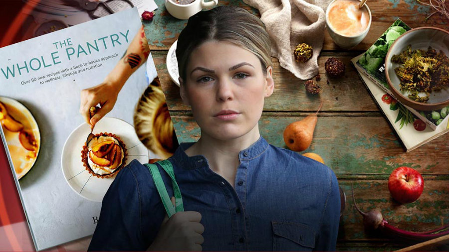 Belle Gibson is an Australian blogger that became famous after she launched The Whole Pantry. Image credit: 9News.com.au