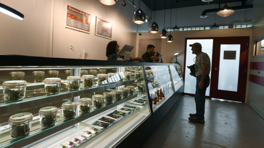 Manufacturing and distributing cannabis would be legal for anyone 21 years old or older. Image credit: AP Photo / The Gazette, Jerilee Bennett / The Washington Times