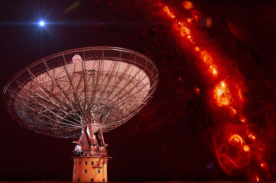 Radio Bursts, Alien Life