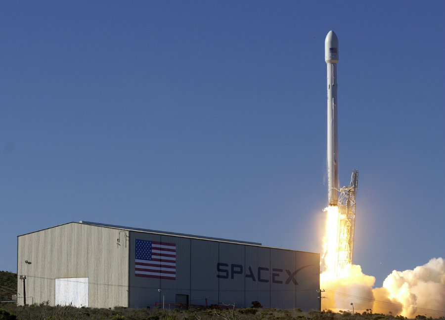 A Falcon 9 rocket will be re-launched to space. Image credit: Mid Day Daily
