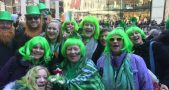 New York City's Fifth Avenue will be flooded by a sea of green from 11 a.m. to 3 p.m. today in celebration of St. Patrick's Day. Image credit: Bianca Rosembert / NBC 4 New York