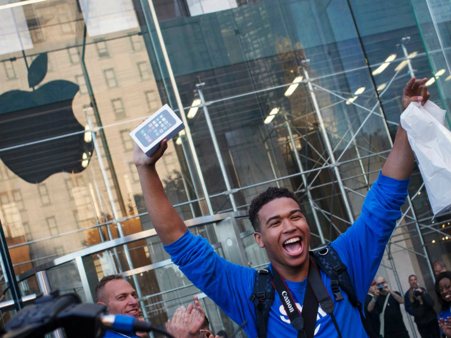 Apple has focused on younger audiences to maintain itself as a brand based on its consumers. Image credit: Reuters / Adrees Latif / Business Insider