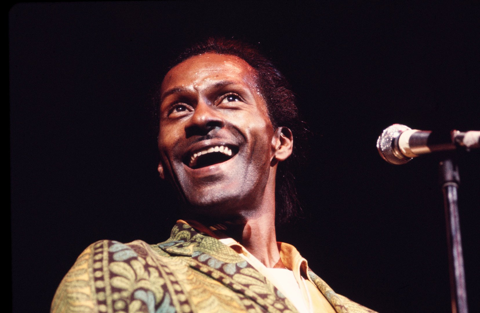 Chuck Berry Performs in New York