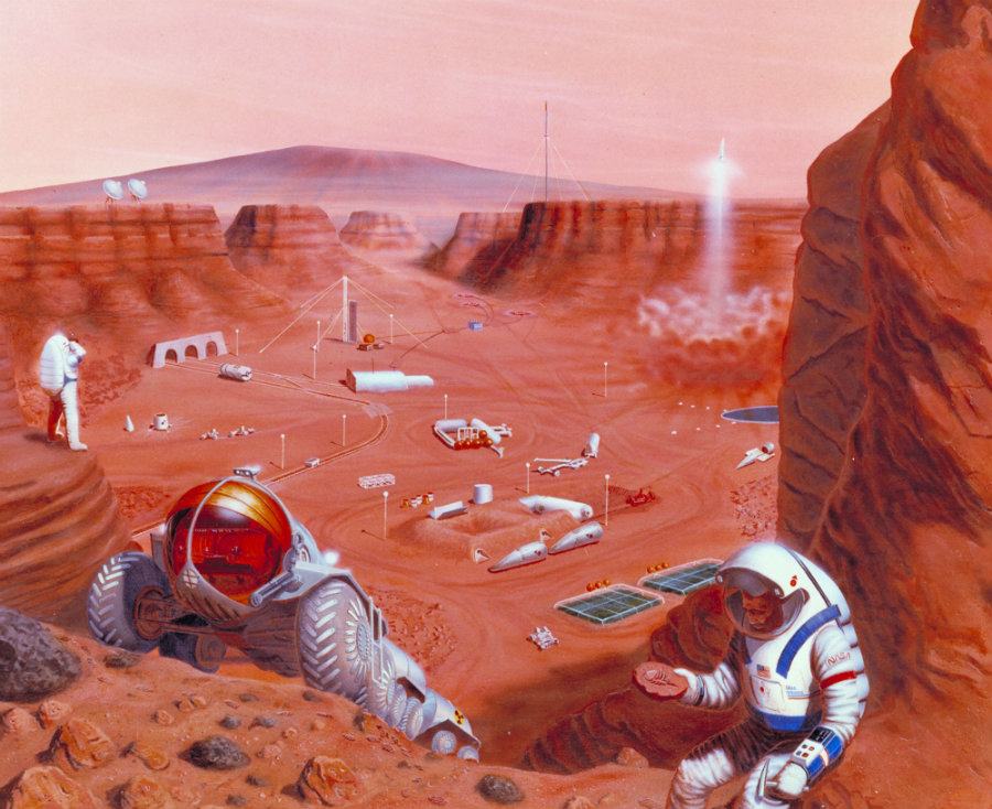 Congress passes NASA funding bill, Mars mission date set