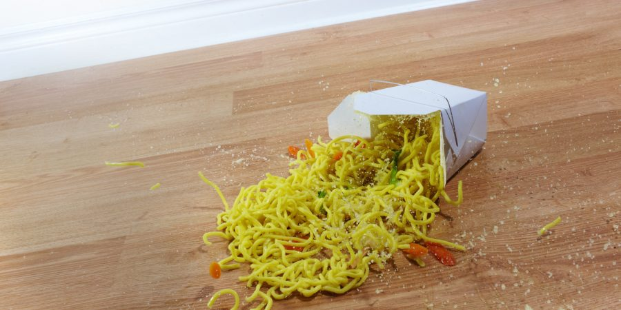 Noodle Mess, Five-second rule