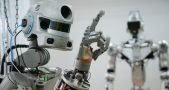 Testing Russian humanoid robot Fyodor at Android Technics enterprise in Magnitogorsk
