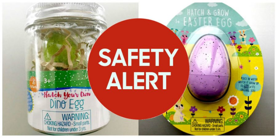 Target stores recall over 500000 Easter Hatch & Grow egg toys