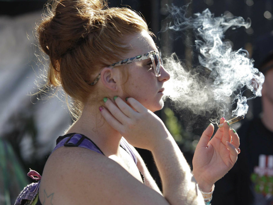 Prolonged marijuana use can cause more severe mental health symptoms, such as paranoia or acute psychosis, including delusions and hallucinations. Image credit: Jason Redmond / Reuters / Business Insider