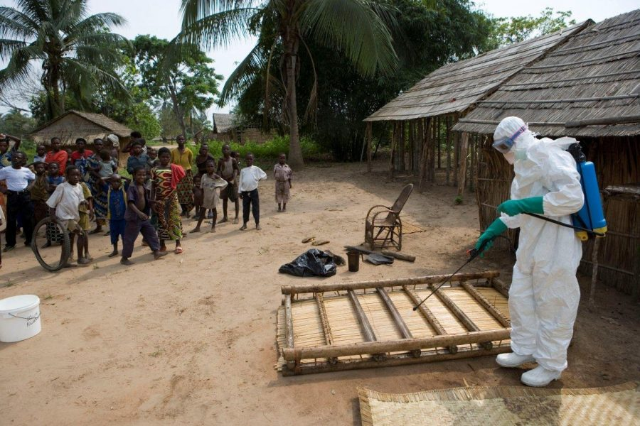 Ebola kills three in DRC