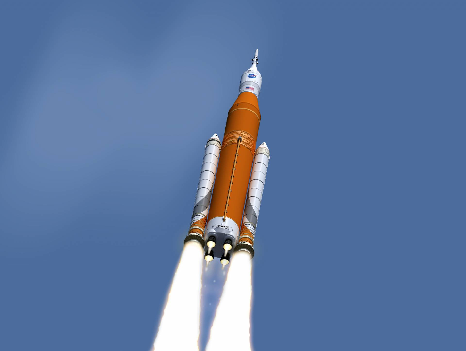 NASA said on Friday that it will not fly astronauts on Orion-SLS test flight around the moon. Image credit: NASA