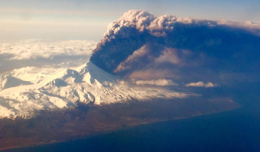 Alaska's Bogoslof Volcano erupts, prompts second-highest aviation alert due to ash