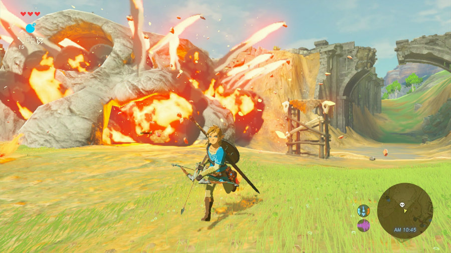Zelda has been characterized by being a game series with an exciting, yet challenging, difficulty curve. Image credit: Comingsoon.net