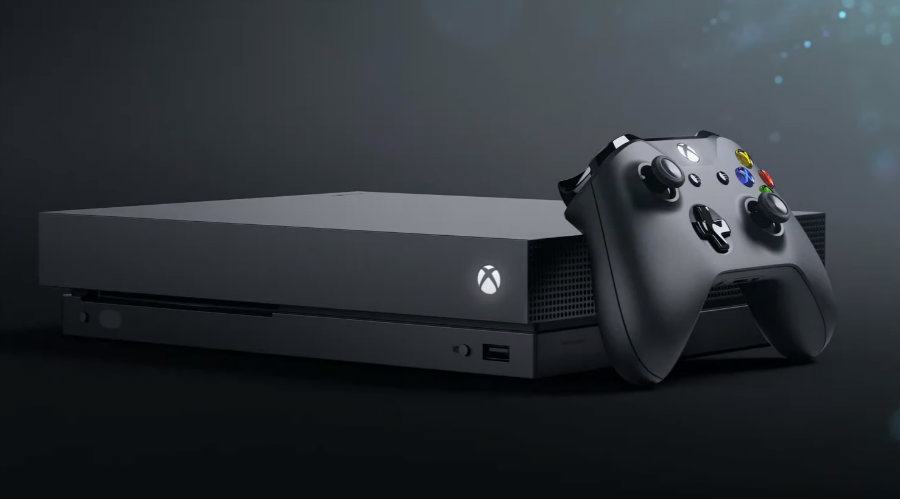 Microsoft announced that its new game console, the Xbox One X, is going to cost $500. Image credit: Wccftech.com