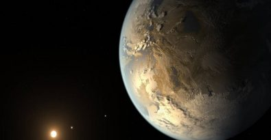 Kepler-186f, the first rocky planet found in the habitable zone of its host star. The discovery was made by analyzing data obtained by the Kepler Space Telescope up until 2014. Image credit: NASA Ames/Seti Institute/JPL-Caltech
