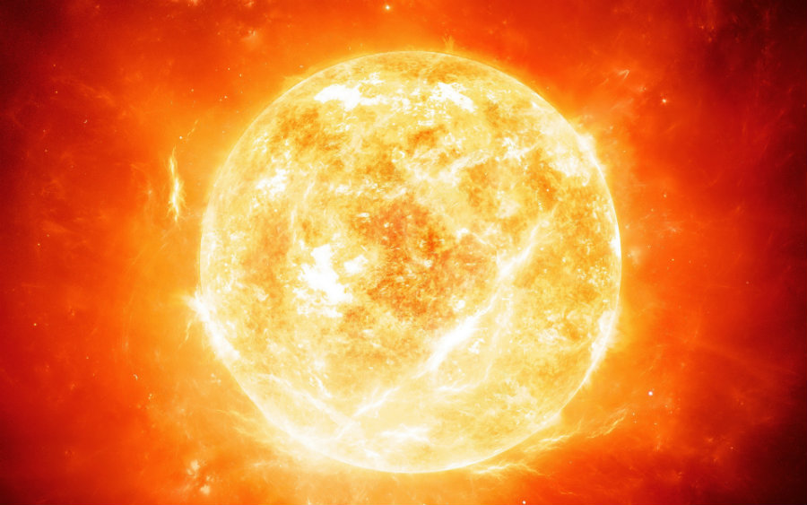 According to the new study, all stars including the Sun are born in pairs. Image credit: Tes.com