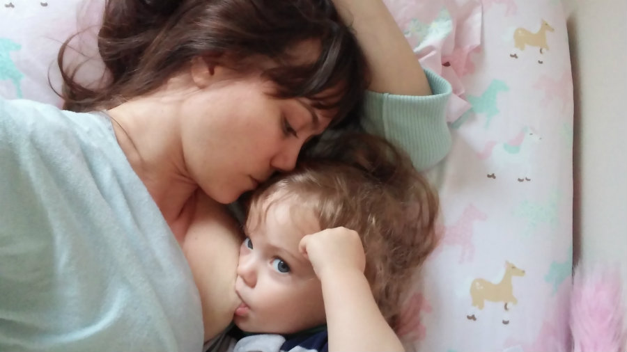 Long-term breastfeeding increases risk of severe cavities in children. Image credit: Aseriousgirl.com