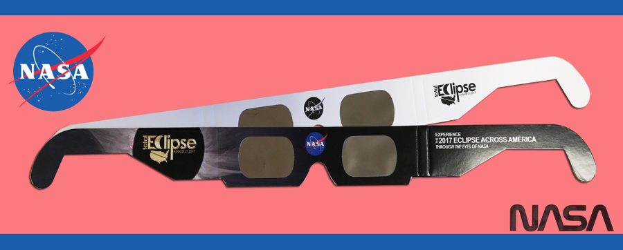 Eclipse Glasses manufactured by American Paper Optics. Image Source: Eclipse Glasses