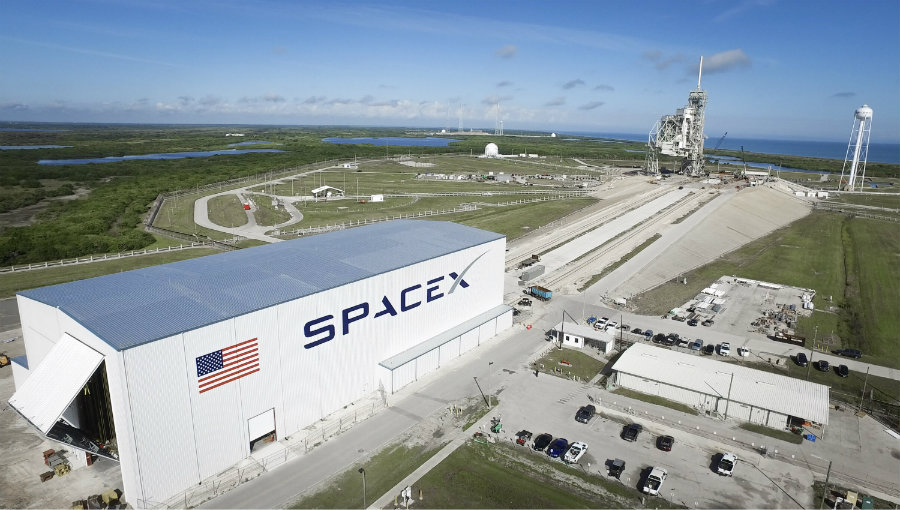 SpaceX was created by Elon Musk in 2002. Image credit: NASA