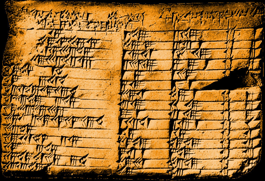 Ancient Tablet Reveals Babylonian Origin of Trigonometry