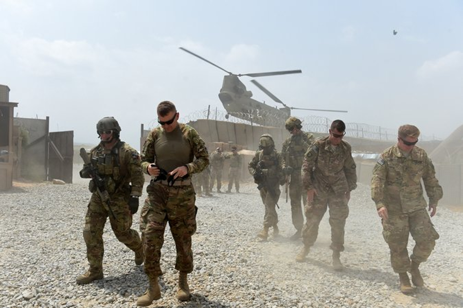 The U.S. has been present in Afghanistan for 16 years now. Image Credit Wakil Kohsar/Agence France-Presse. Getty Images