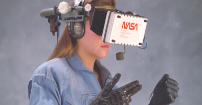 NASA's Virtual Environment Reality workstation. Image Credit: NASA / BBC