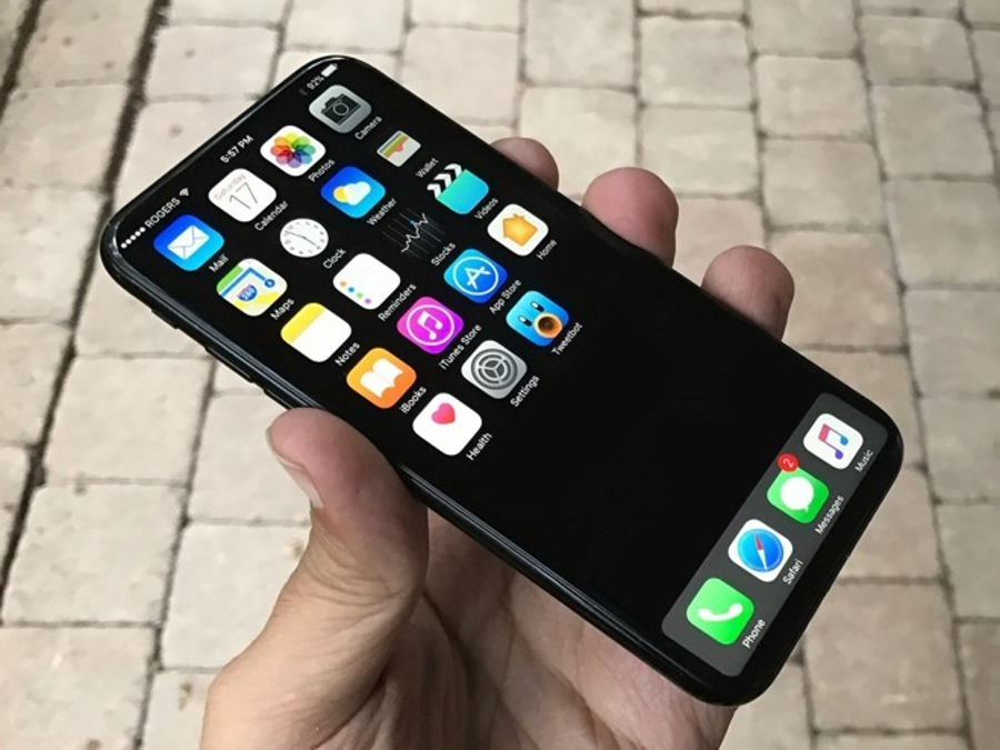 Concept rendition of a probable iPhone 8. Image Credit: Apple Insider