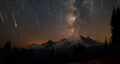 Photo taken during the 2015 Perseid Meteor Shower. Image Credit: Matthew Dieterich