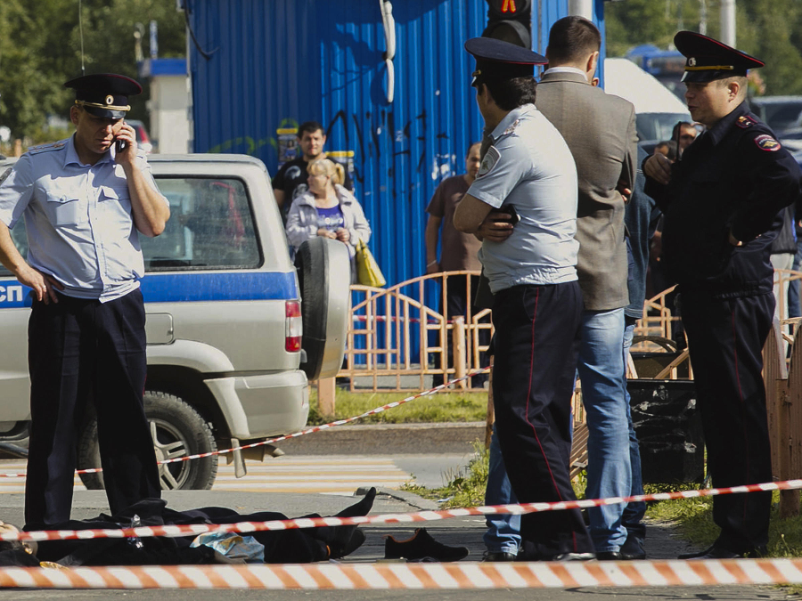 The Islamic State claimed responsibility for the stabbing. Image Credit: IRINA SHVETS / AP